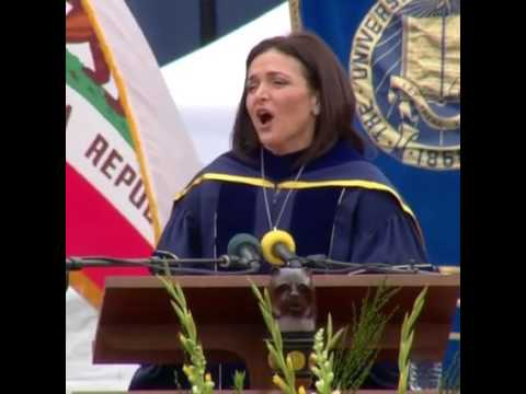 Facebook's Sheryl Sandberg's powerful commencement speech at UC Berkeley