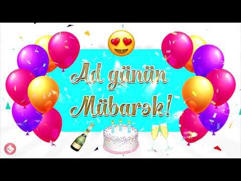 Ad Gunun Mubarek Status Ucun Yuklə Youtube