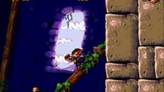 Aero the Acro-Bat 2 (Sega Genesis) Bell Castle - Act 1