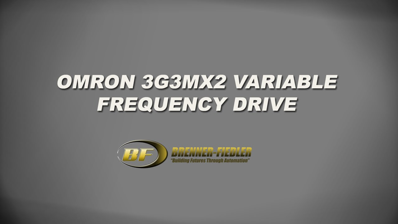 Omron 3G3MX2 Variable Frequency Drive on