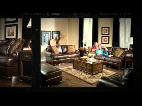 Ashley Furniture Axiom Leather Furniture Collection Youtube