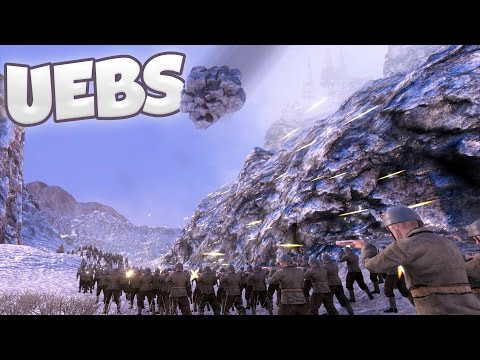 UEBS - Can We Survive an Avalanche? - Avalanche Canyon Map - Ultimate Epic Battle Simulator Gameplay