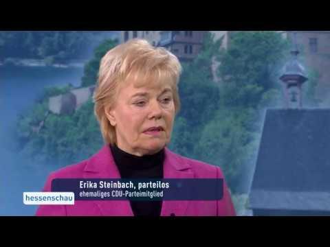 Interview mit Erika Steinbach zum Austritt aus der CDU