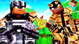 FURNACE Armor Vs. CRAFTING TABLE Armor! - Minecraft Mods