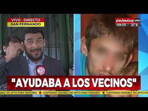 Conmoción en San Fernando: Mataron a comerciante delante de su esposa