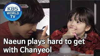 Naeun plays hard to get with Chanyeol [The Return of Superman]