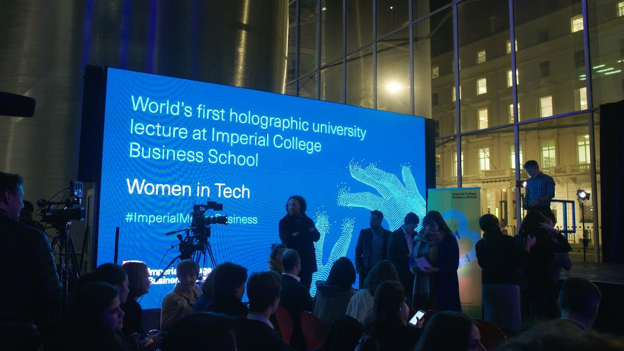 Imperial College Business School introduces 'holographic