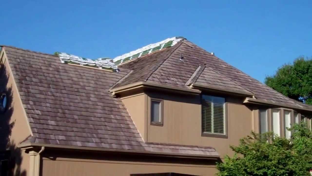 Leawood, KS Grand Sequoia Lifetime Roof Installation