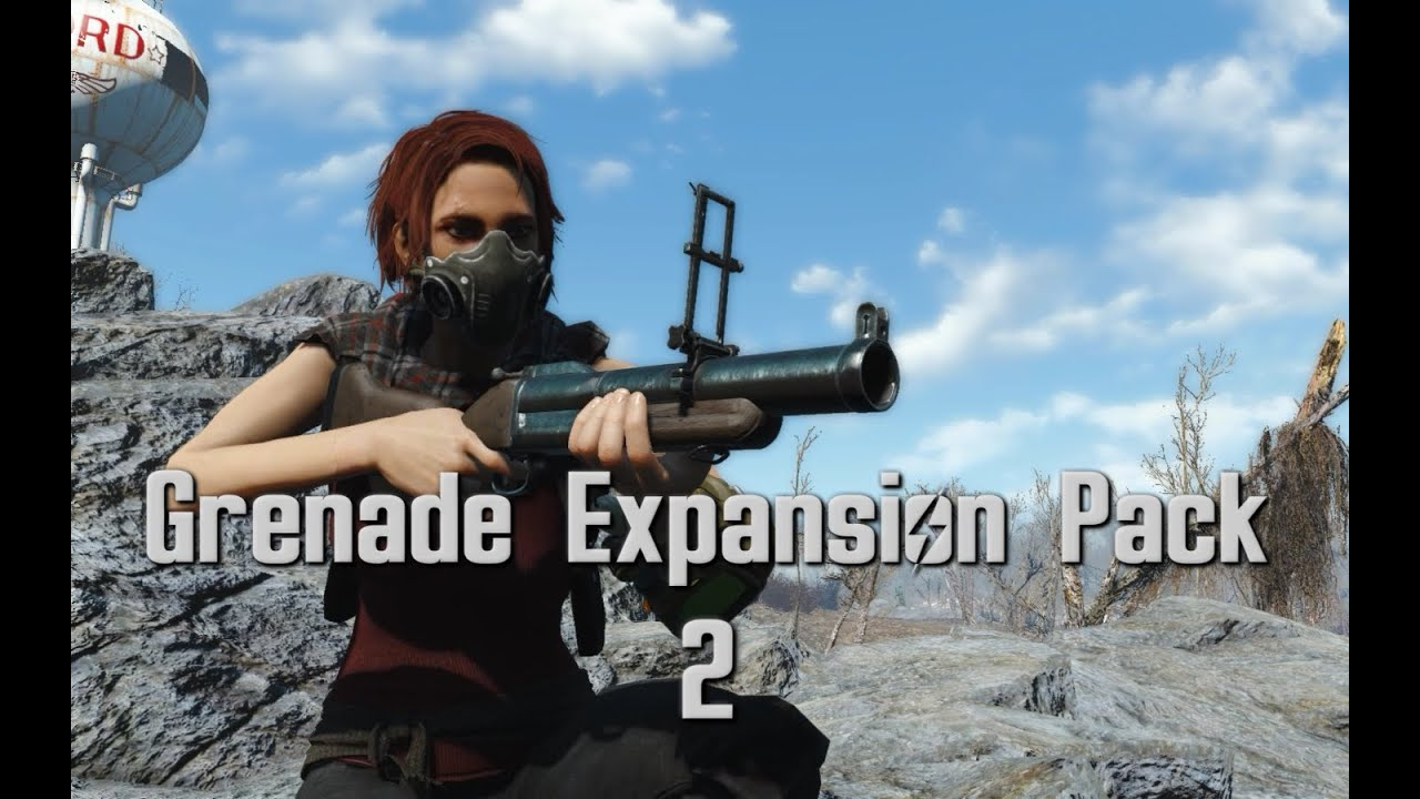Grenade Expansion Pack 2 -- M79 Grenade Launcher and New
