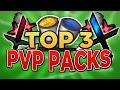 TOP 3 MINECRAFT PVP TEXTURE PACKS