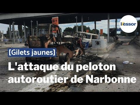 [Dans la crise des Gilets jaunes] L'attaque du peloton autoroutier de Narbonne
