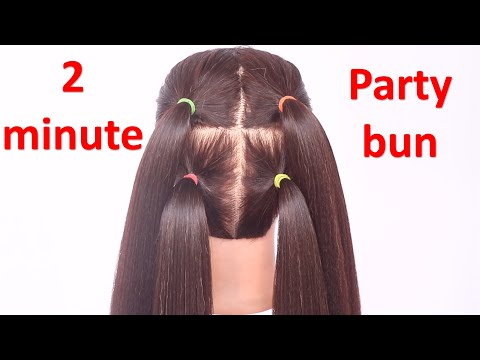 quick-hairstyles-for-party-||-easy-hairstyle-||-small-hairstyle-||-hairstyle-for-ladies-||-hairstyle