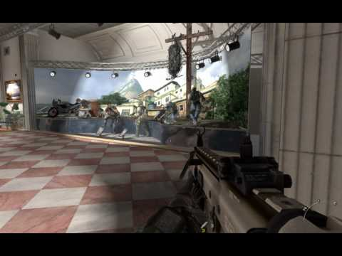 How To Find The Secret Red Button in Mission Museum Modern Warfare 2 (COD Call of Duty: MW2) PC