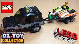The Lego Movie Lego Toys Lego Car Lego Boat Jet Boat