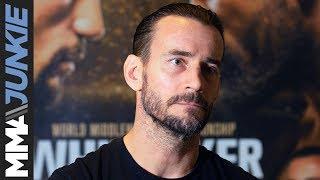 UFC 225: Phil 'CM Punk' Brooks pre-fight interview