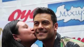 Carlos Rivera en firma de autógrafos Mixup Reforma 222