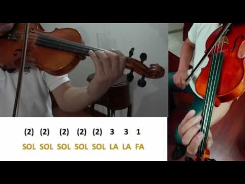 Luis Fonsi & Daddy Yankee Despacito -  Tutorial Violín How To Play Slowly