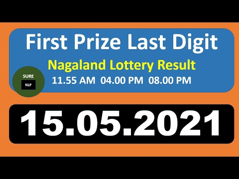 First Prize Last Digit 15 05 2021   Nagaland lottery Sambad Lottery target number Today