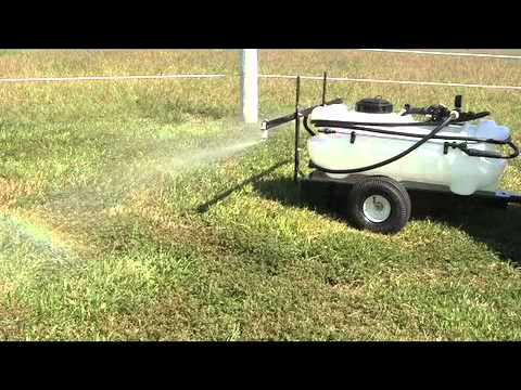 15 Gallon Trailer Sprayer with 7 Foot Boom - Master Manufacturing