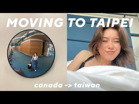 MOVING VLOG: flying to Taipei, 14-day hotel quarantine tour, and saying goodbye!