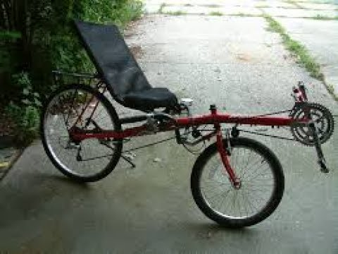 will it ride? recumbent bike from a garage sale