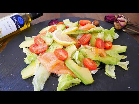 salade-saumon-fumé-avocat---idée-recette-entrée