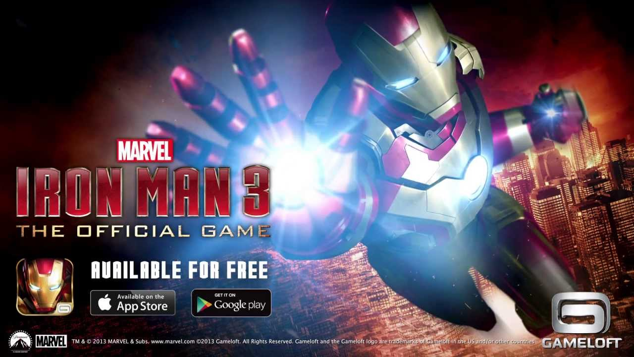 iron man 3 the official game launch trailer youtube