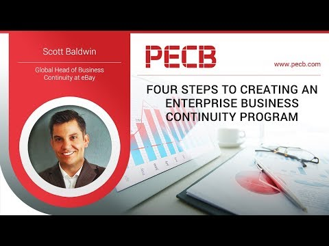 Four steps to creating an enterprise Business Continuity program