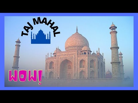 The TAJ MAHAL, the most spectacular wonder of the world (INDIA), travel video