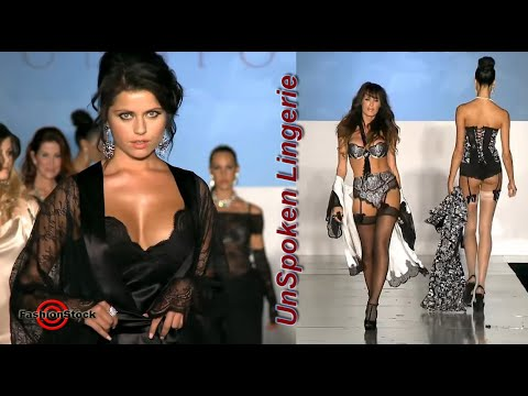 Unspoken Lingerie - LA Fashion Week at Union Station SS 2013