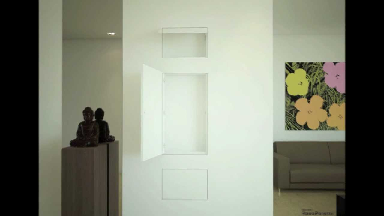 Tende Per Chiudere Ripostiglio chiusure nicchie filo muro sistemi rasoparete - elimina