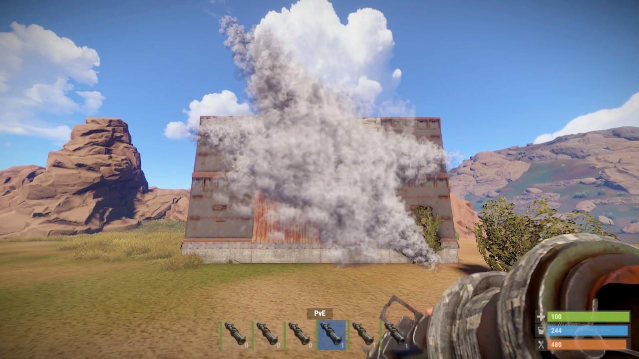 How Many Rockets For Each Wall Rust Fast Walkthrough