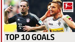 Top 10 Goals: Borussia Mönchengladbach vs FC Bayern München