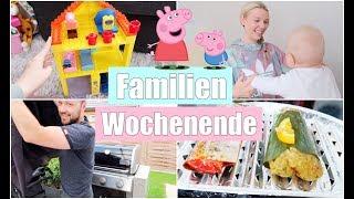 Baby schläft mit Föhn ein! 👶🏼 | Peppa Pig Haus | Wir grillen & Food Haul | Isabeau