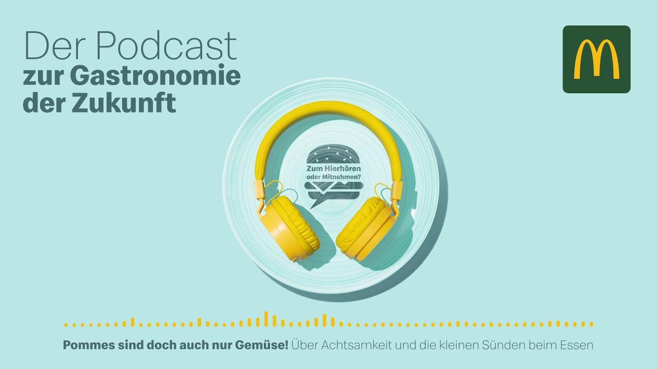 Zum Hierhören oder Mitnehmen? Der Podcast zur Gastronomie der Zukunft – Folge 8: Ernährung