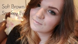 Soft Brown Smokey Eye Tutorial | LiddieLoo Thumbnail