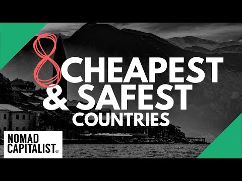 What's the Cheapest and Safest Country to Live in?