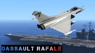 GTA 5 : DASSAULT RAFALE | Marine Nationale