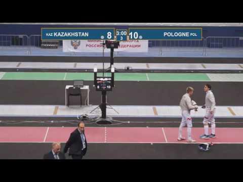 T8 POLOGNE -  KAZAKHSTAN Black sea cup / men's team (Red piste)