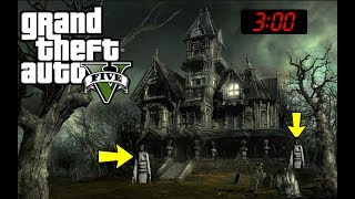 GTA 5 HAUNTED HOUSE FOUND!!! 😱 (LOCATION)