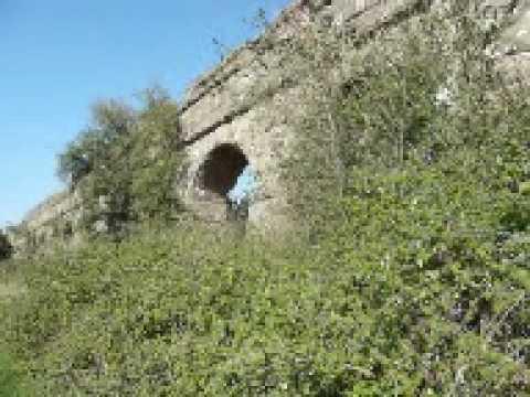 Aqua Claudia Roman Aqueduct.mpg