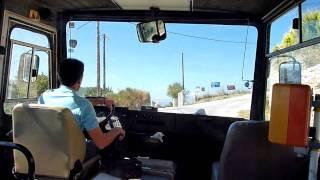 The Alonissos Bus Journey