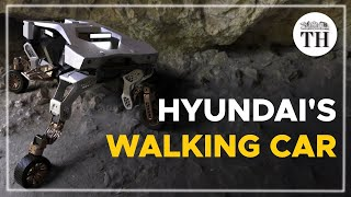 Hyundai's car that can walk on four legs