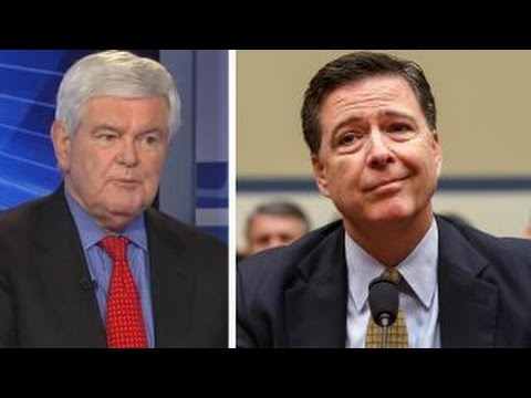 Gingrich's take: Comey on the hot seat
