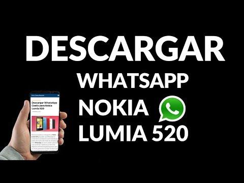 Cómo Descargar WhatsApp Nokia Lumia 520