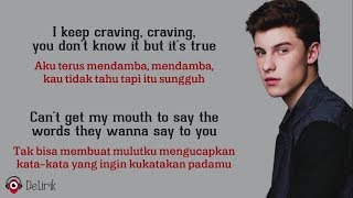 Imagination - Shawn Mendes (Lyrics video dan terjemahan)