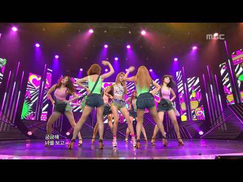 G.NA - 2HOT, 지나 - 투핫, Music Core 20120630