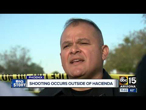 Suspect shot by off-duty officer at Hacienda HealthCare facility