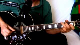 I Wave Bye Bye ~ Jesse Winchester - Jimmy Buffett - Allen Toussaint ~ Cover w/ Epiphone EJ-200CE BK