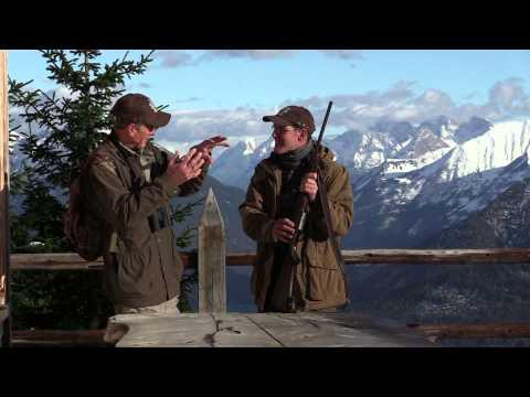 Mauser M 12 - Chamois Hunting with American writer Wayne van Zwoll in Austria